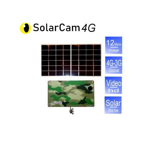 SolarCam, 4G solar camera.